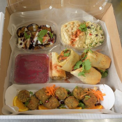 Picnic Boxes: Middle Eastern Picnic Box