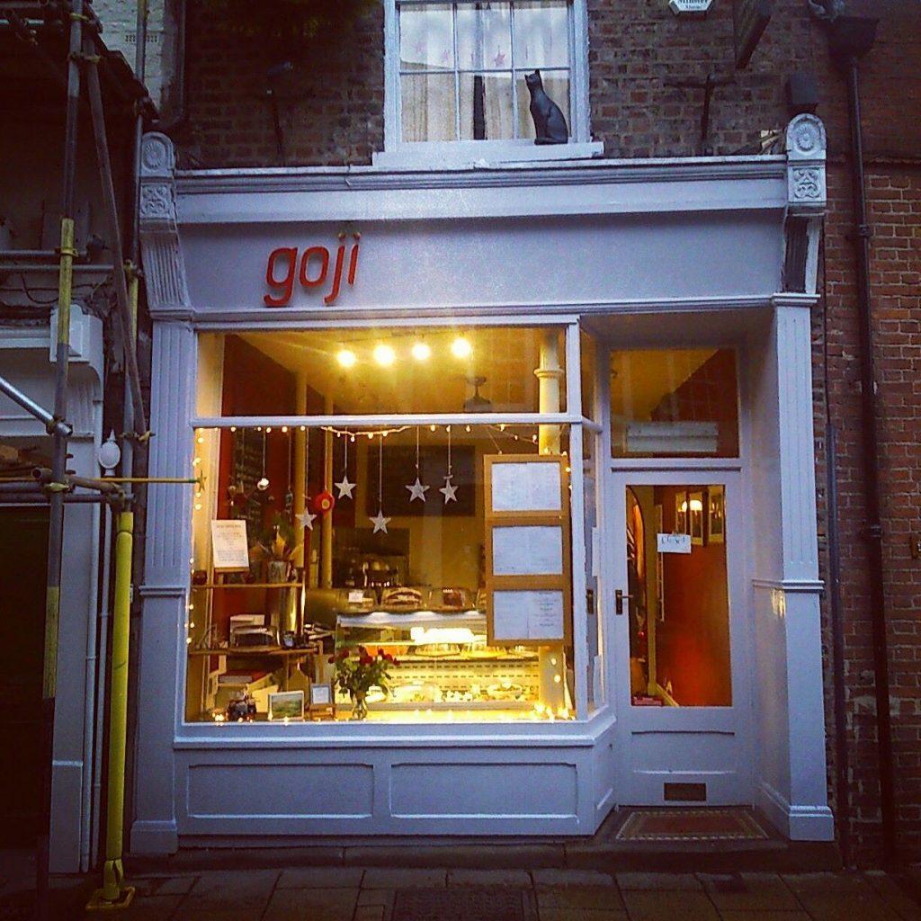 Goji Cafe Shop Front